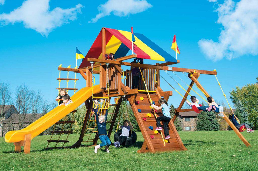 Rainbow Turbo Castle Pkg II (24A)