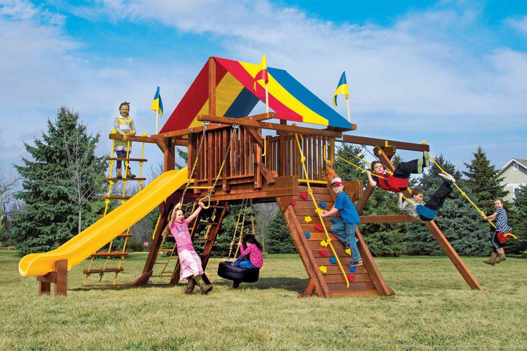 Rainbow Turbo Castle Pkg II Supersized (26B)