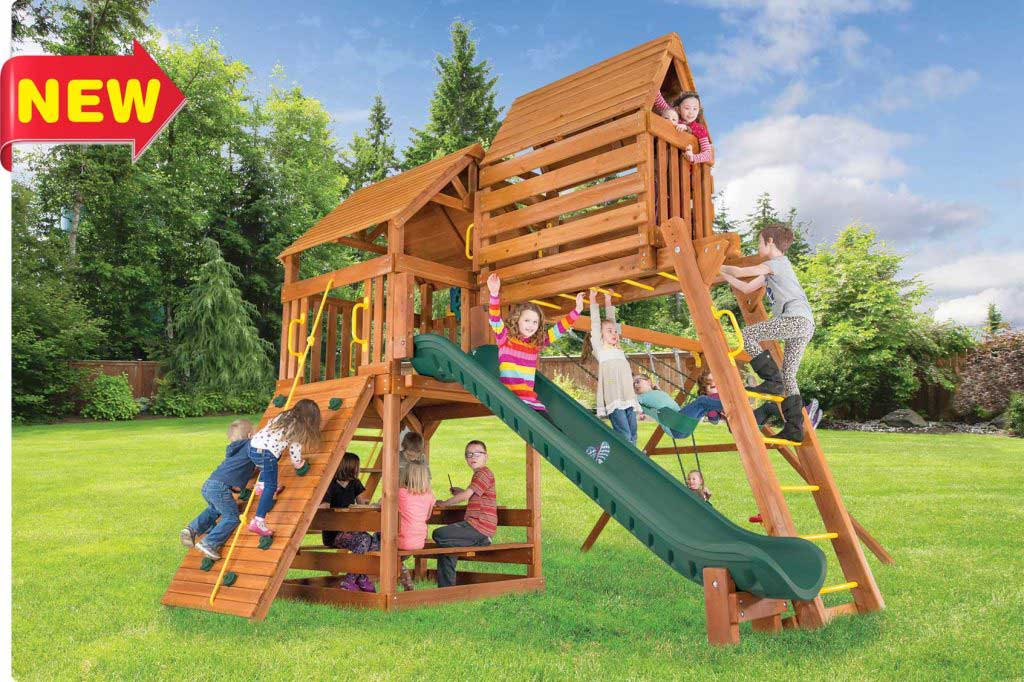 Fiesta Clubhouse Pkg IV w/Wood Roofs (35B)