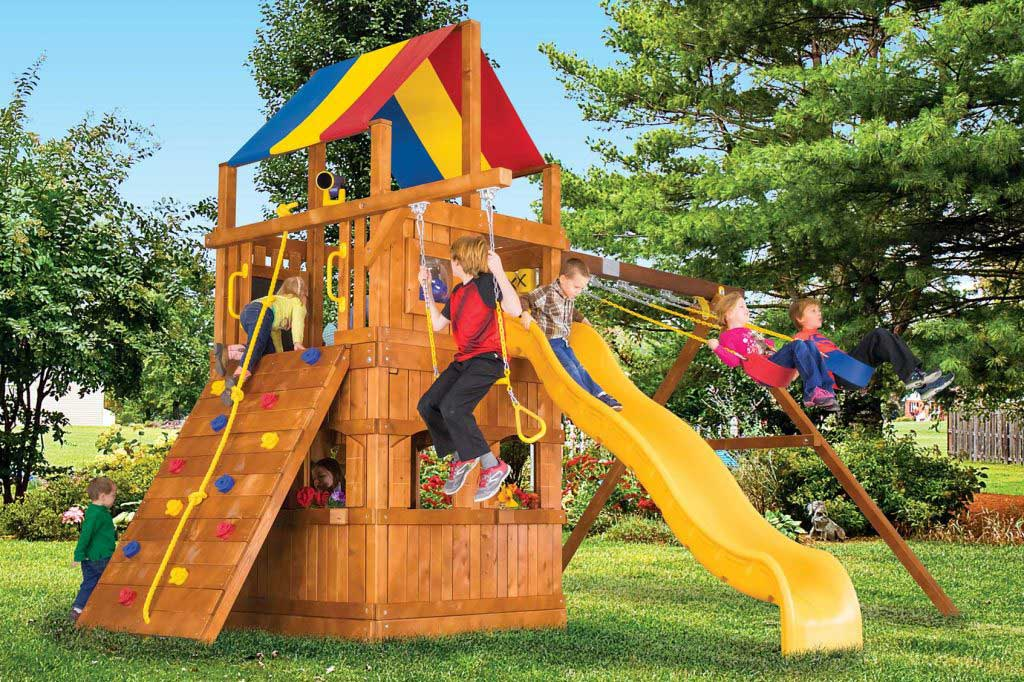 Carnival Clubhouse Pkg II w/Playhouse (37D)