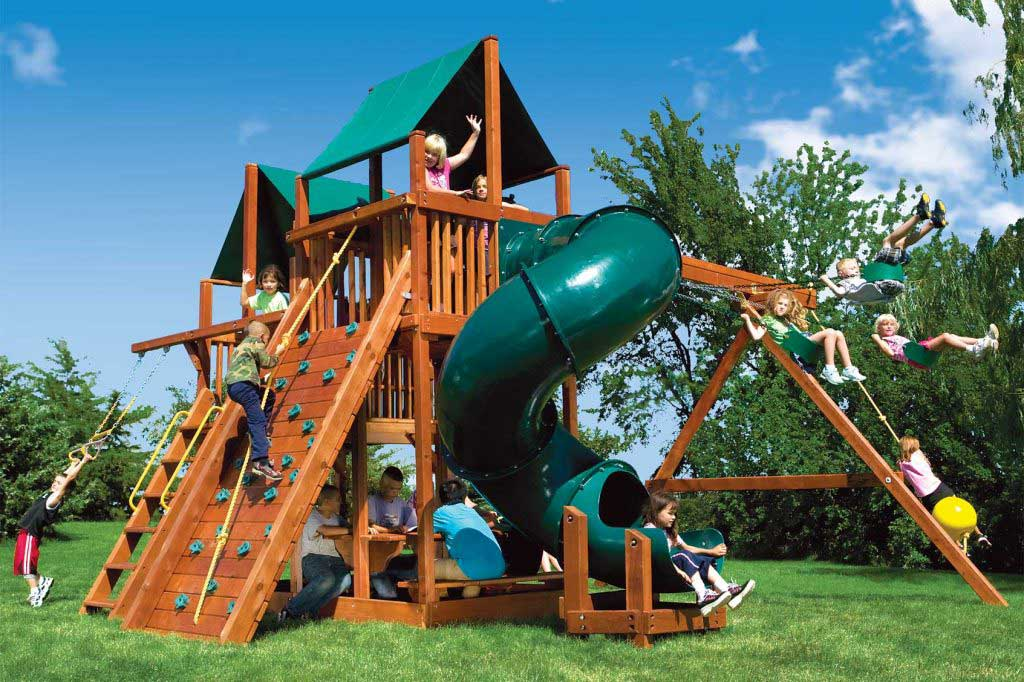 King Kong Clubhouse Pkg II w/Spiral Slide (46C)